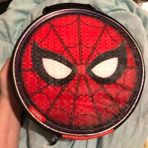 SPIDERMAN THERMOS/MARVEL SOFT LUNCH BOX.NEW W TAGS